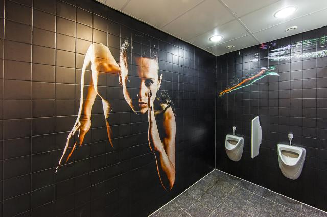 adesivi da stampa speciali per decorazione murale GRAFITYP