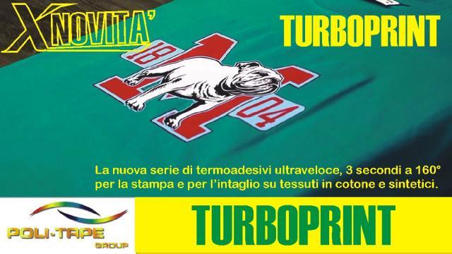 Nuovi termoadesivi  per tessuti turbo print