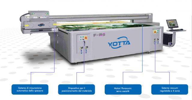 PLOTTER PIANI UV LED  3X2 YOTTA